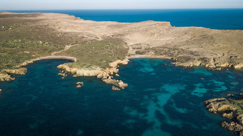 Cala Tusqueta Menorca