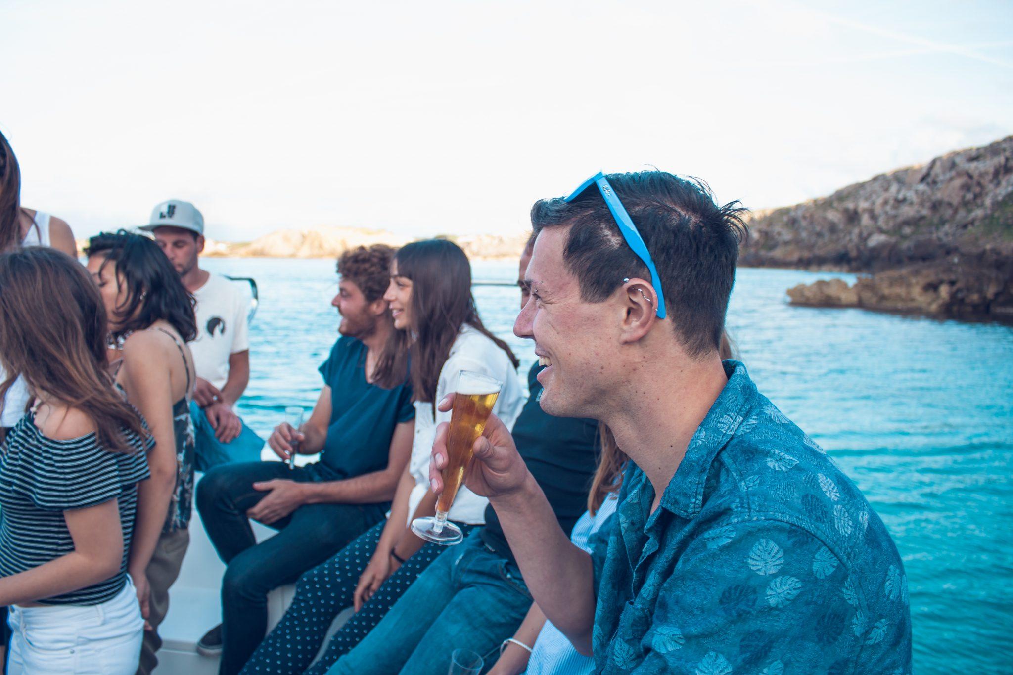 fiesta de aniversario en Menorca