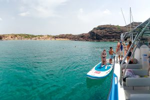 Calas Menorca para ir con niños